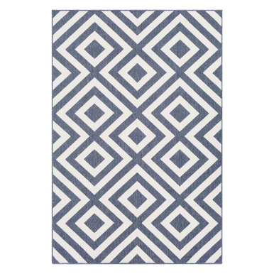 Sidney Outdoor Rug - Denim