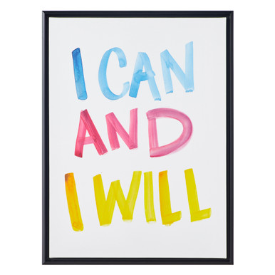 I Can And Will