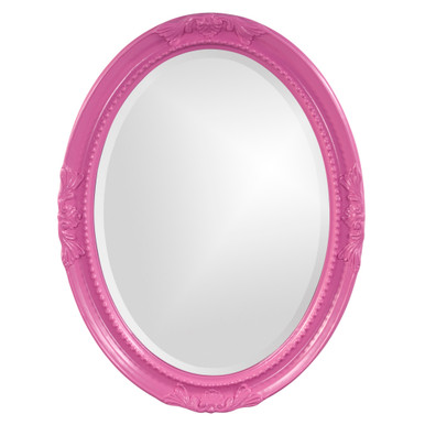 Queen Ann Mirror - Glossy Hot Pink
