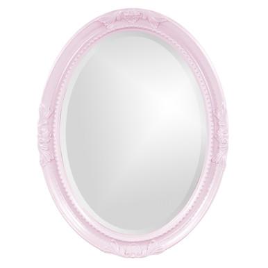 Queen Ann Mirror - Glossy Lilac
