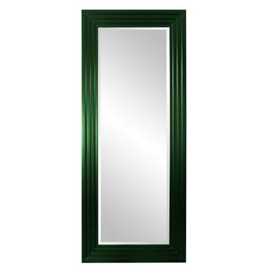 Delano Mirror - Glossy Hunter Green