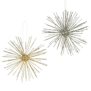 Glitter Burst Ornament