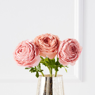 Real Touch Ranunculus Stem - Set of 3