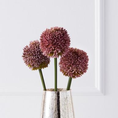 Faux Allium Stem - Set of 3