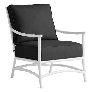 Savannah Outdoor Lounge Chair - Black