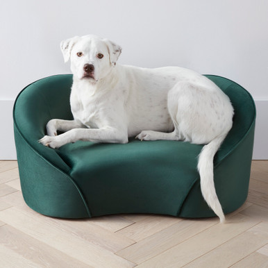 Poodle Bed - Forest Green