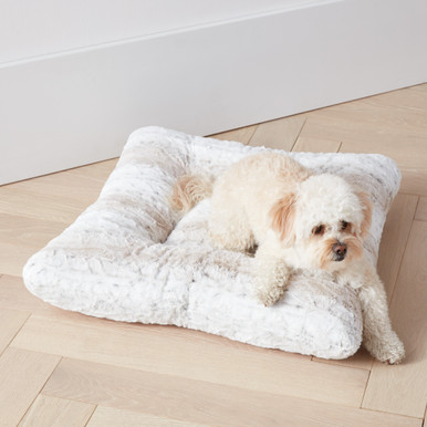 Snow Leopard Bed - Champagne