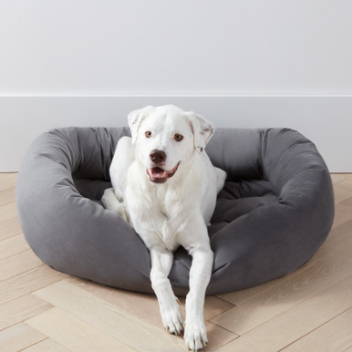 Bowsers Donut Bed - Charcoal