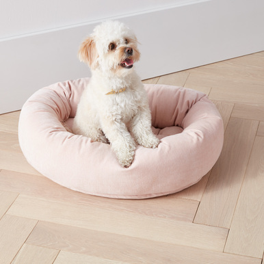 Bowsers Donut Bed - Blush