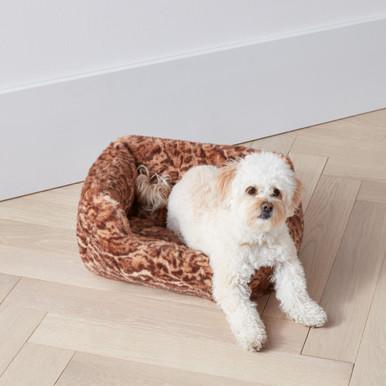 Faux Mink Bed - Leopard