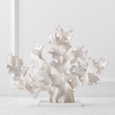 Faux Finger Coral On Stand
