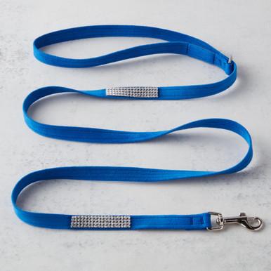 Swarovski Crystal Leash - Blue
