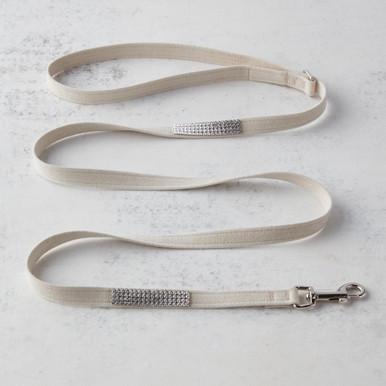 Swarovski Crystal Leash - Ivory