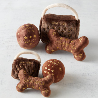 Chewy Vuiton Toy Set