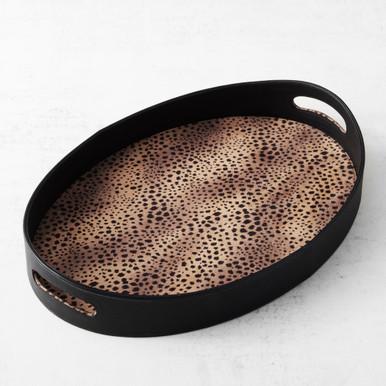 Leopard Tray