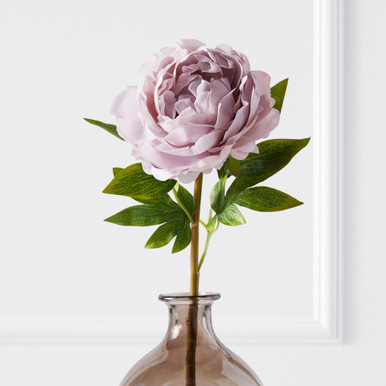 Real Touch Peony Stem - Set of 3