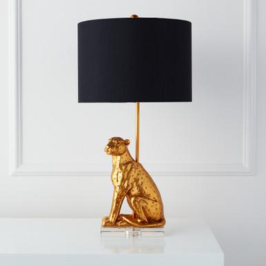 Leopard Table Lamp
