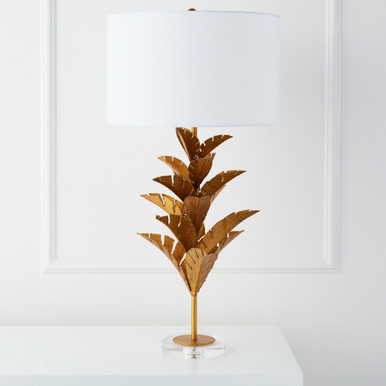 Palm Table Lamp