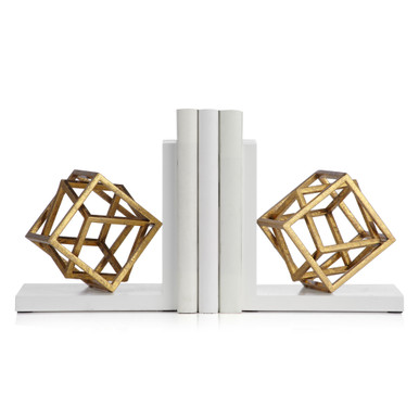 Cubed Bookends