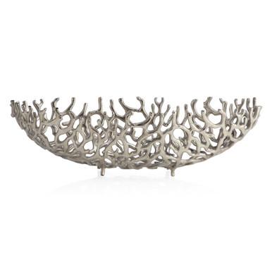 Coral Aluminum Bowl