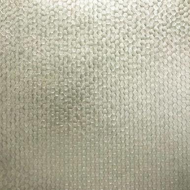 Carbon Platinum Honeycomb Geometric Wallpaper