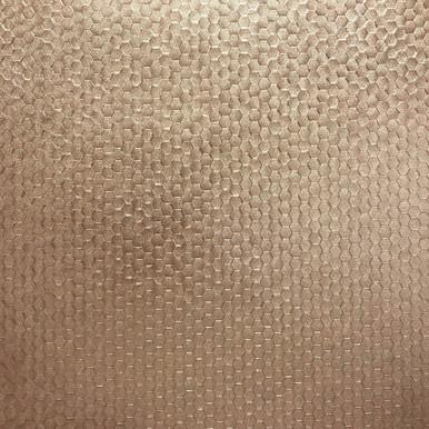 Carbon Rose Gold Honeycomb Geometric Wallpaper