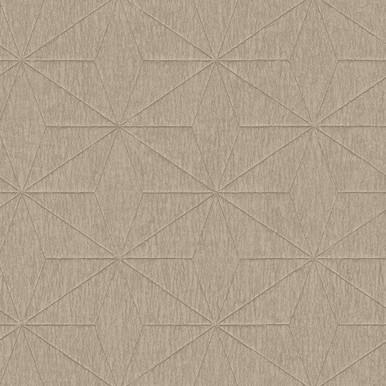 Bernice Gold Diamond Geometric Wallpaper