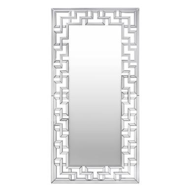 Santorini Leaner Mirror - Silver