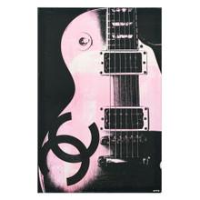 Pink Glam Guitar