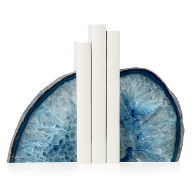 Agate Bookends