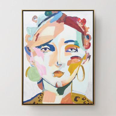 Citrine Beauty - Framed