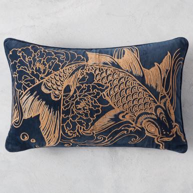Koi Lumbar Pillow