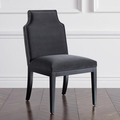 Jasmine Dining Chair - Matte Black
