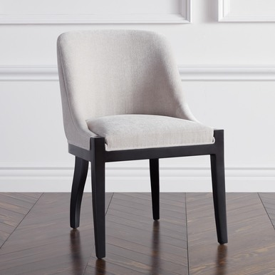 Lily Dining Chair - Matte Black