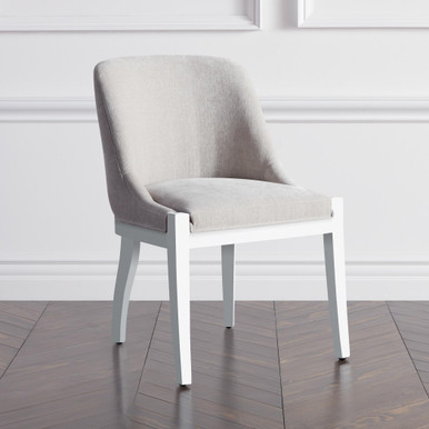 Lily Dining Chair - High Gloss White