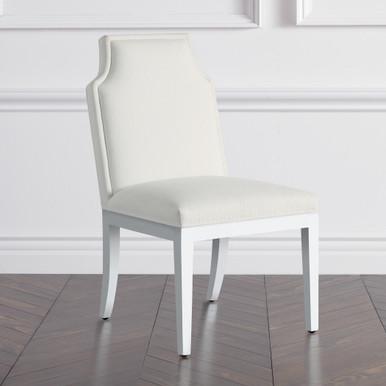 Jasmine Dining Chair - High Gloss White