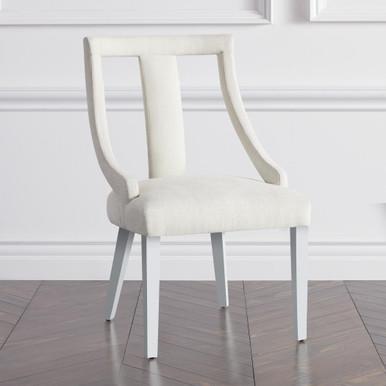 Jade Dining Chair - High Gloss White