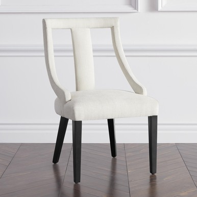 Jade Dining Chair - Matte Black