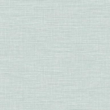 Exhale Light Blue Faux Grasscloth Wallpaper