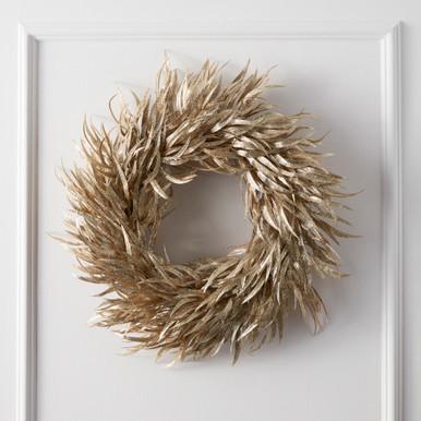 Metallic Eucalyptus Wreath