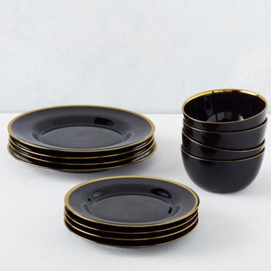 Noir Dinnerware Sets