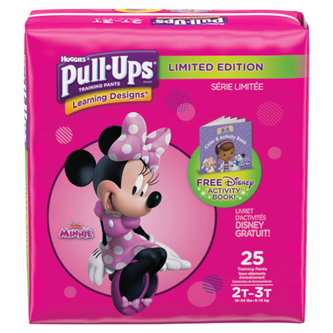 Pull-Ups Learning Designs Potty Training Pants for Girls