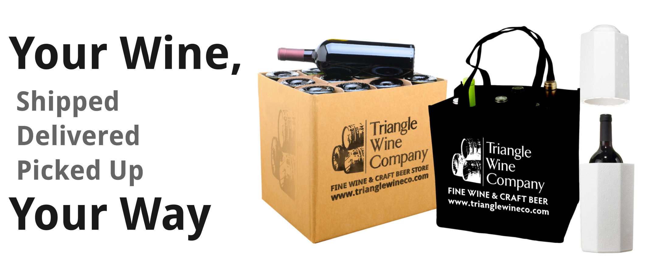 Buy Wine Online and Choose Shipping