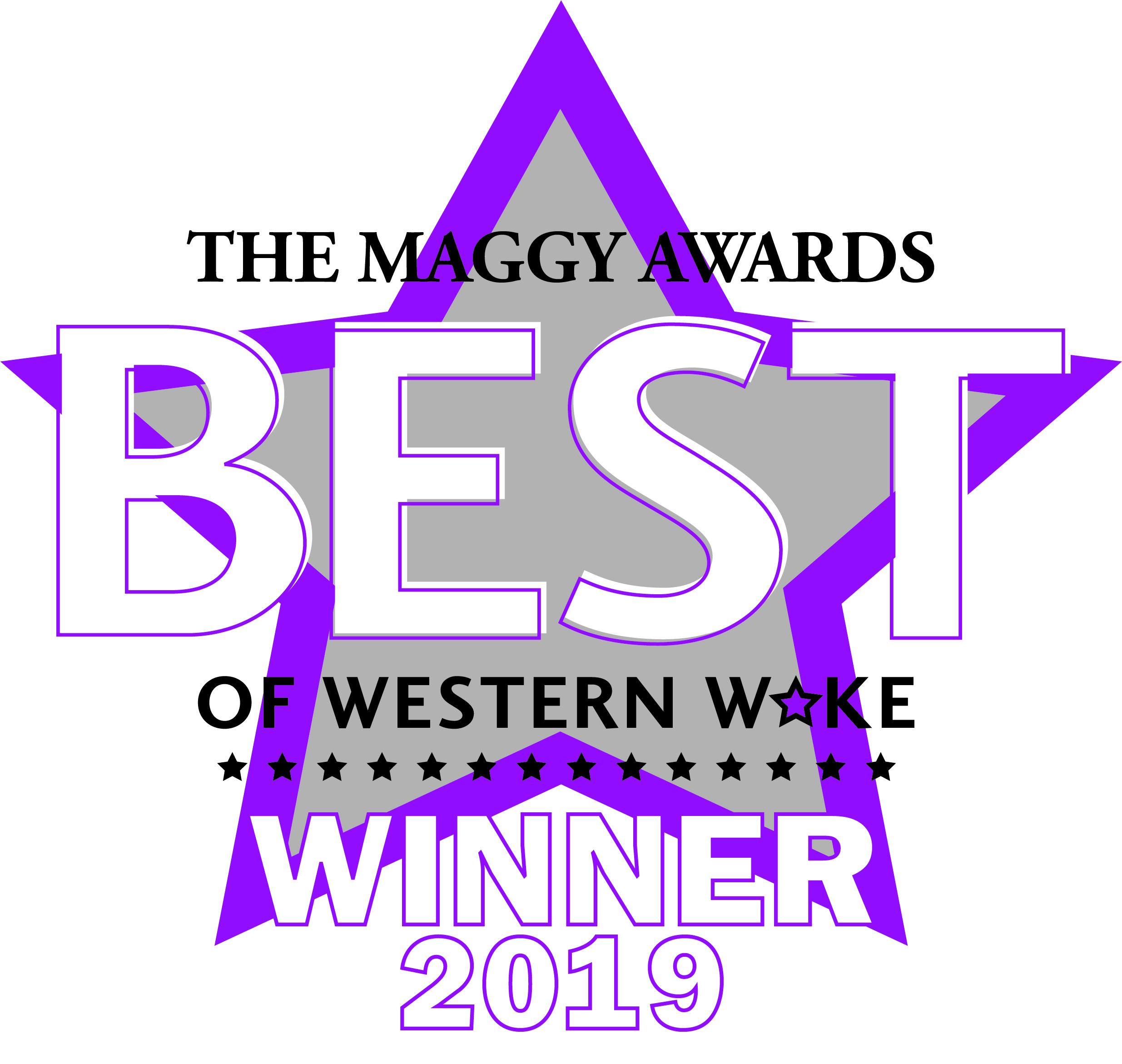 Cary Magazine Maggy Award Best in Western Wake Best Wine Shop Triangle Wine Company 2019