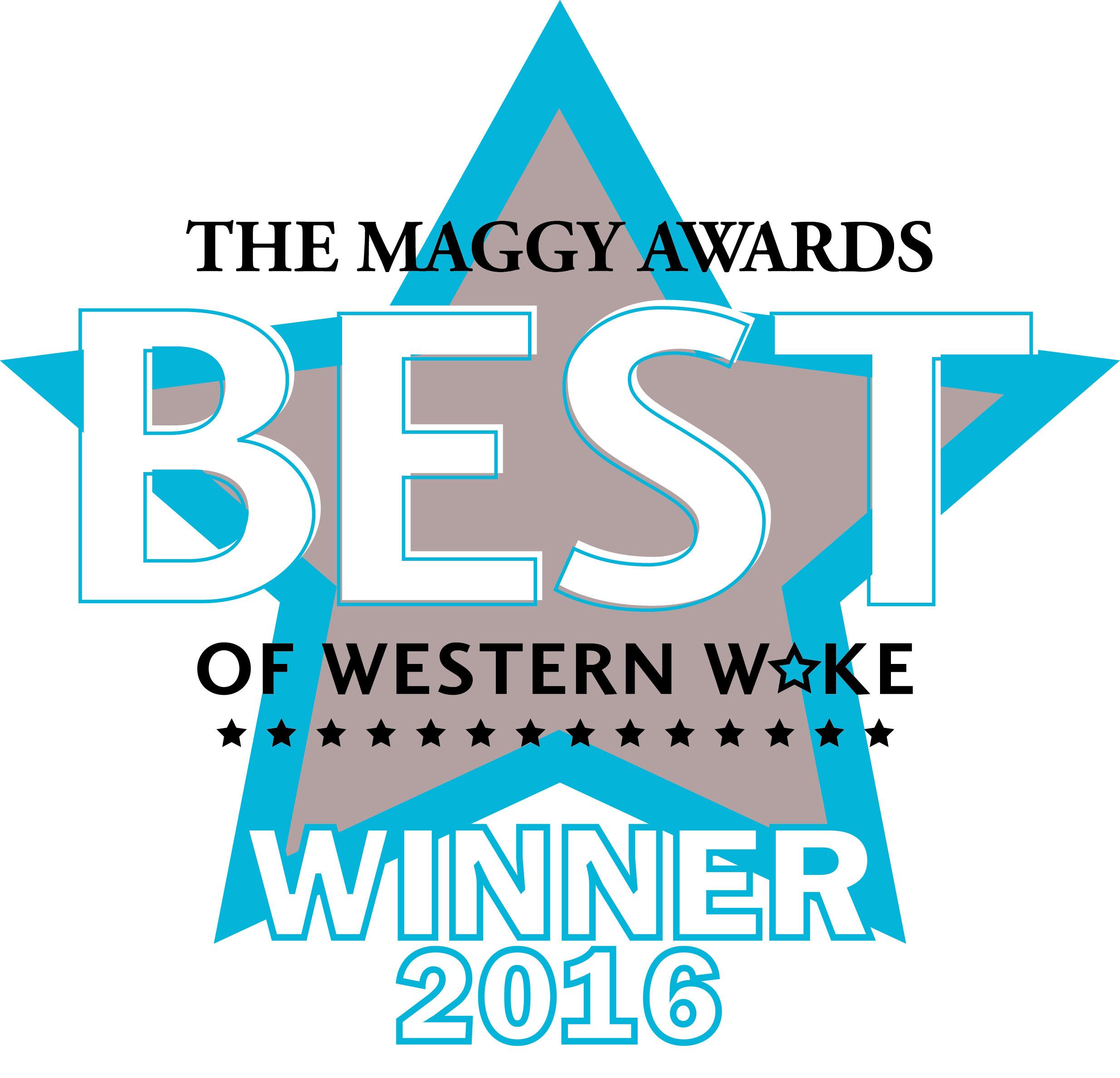 Cary Magazine Maggy Award Best in Western Wake Best Wine Shop Triangle Wine Company 2016