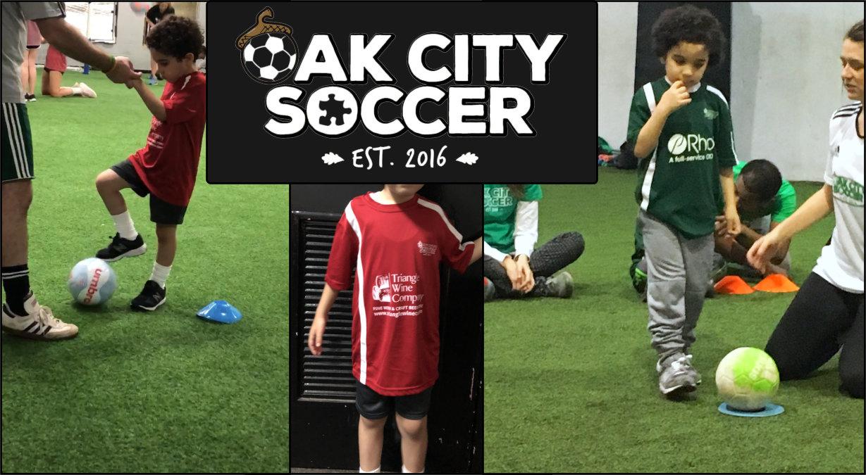 Oak City Soccer sponsored by Triangle Wine Company