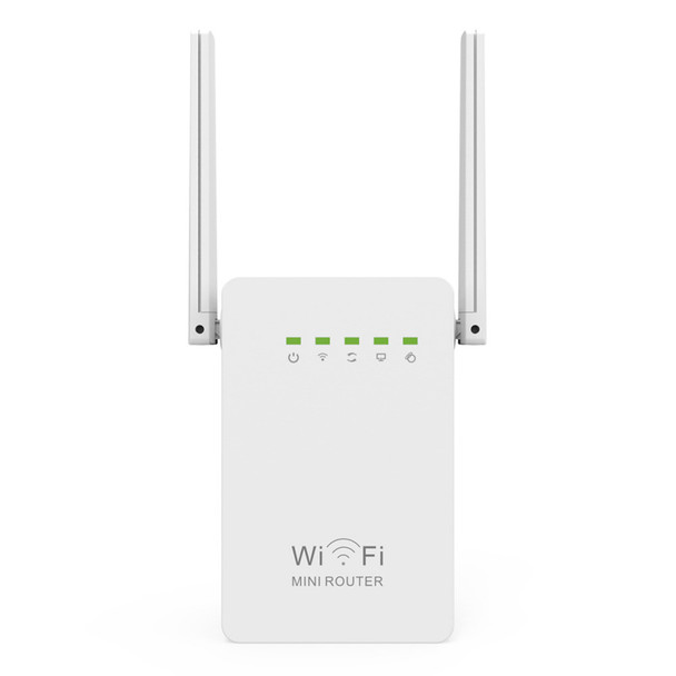300Mbps Mini Router WiFi Repeater Network Range Extender Booster