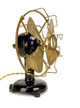 """8"""" Munderloh & Co (Like Menominee) Tab Foot 8"""" Desk Fan"""