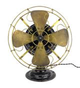 """All Original Emerson Trojan 5110 Pancake 12"""" Desk Fan"""