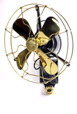 Professionally Restored Very Rare GE Wall Mounted Telephone Operators Fan